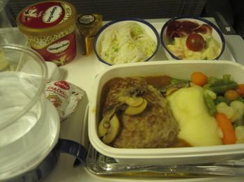 air france (JAL)機内食 paris - narita 1.JPG